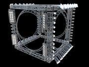 Lichte constructie 3d model