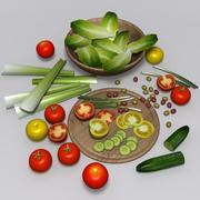 insalata 3d model