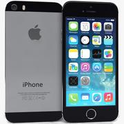Apple iPhone 5s Black 3d model