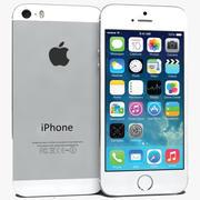 Apple iPhone 5S Prateado 3d model