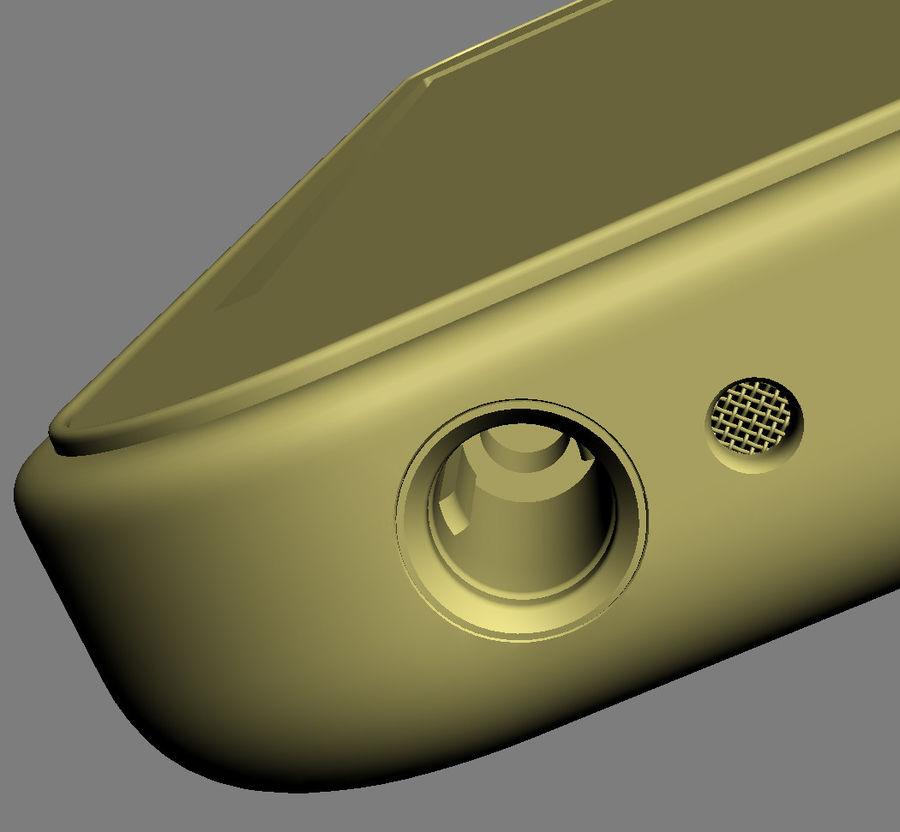iPhone 5C cinco colores royalty-free modelo 3d - Preview no. 41