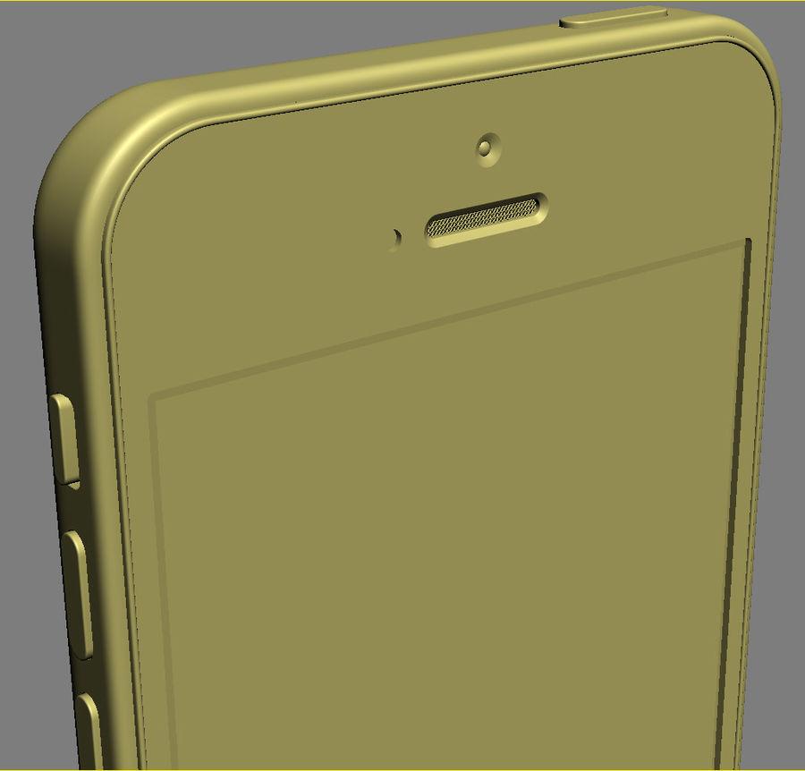 iPhone 5C cinco colores royalty-free modelo 3d - Preview no. 31