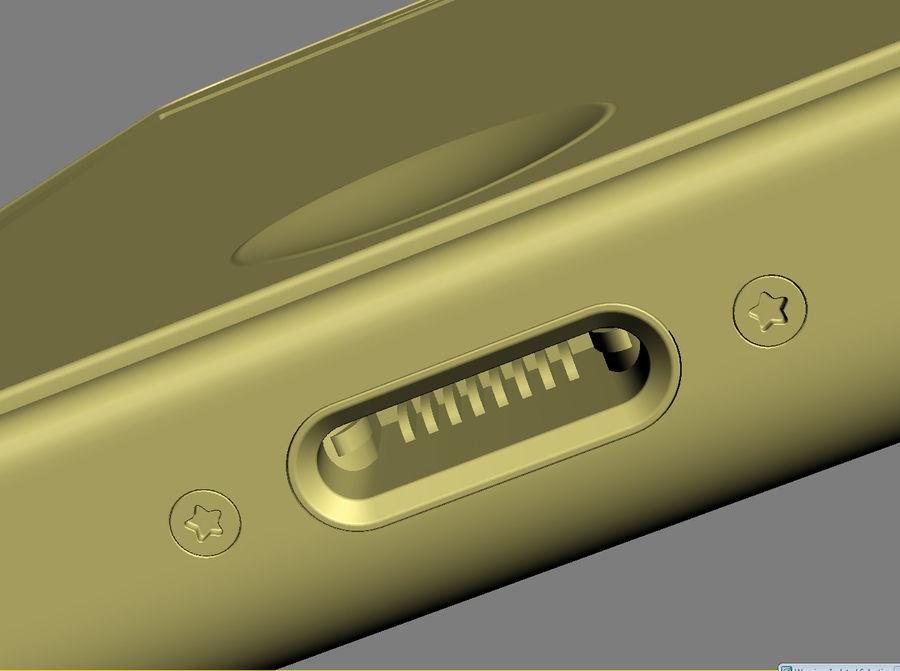 iPhone 5C cinco colores royalty-free modelo 3d - Preview no. 43