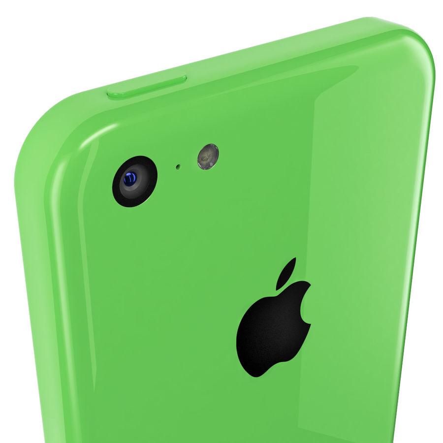 iPhone 5C cinco colores royalty-free modelo 3d - Preview no. 2