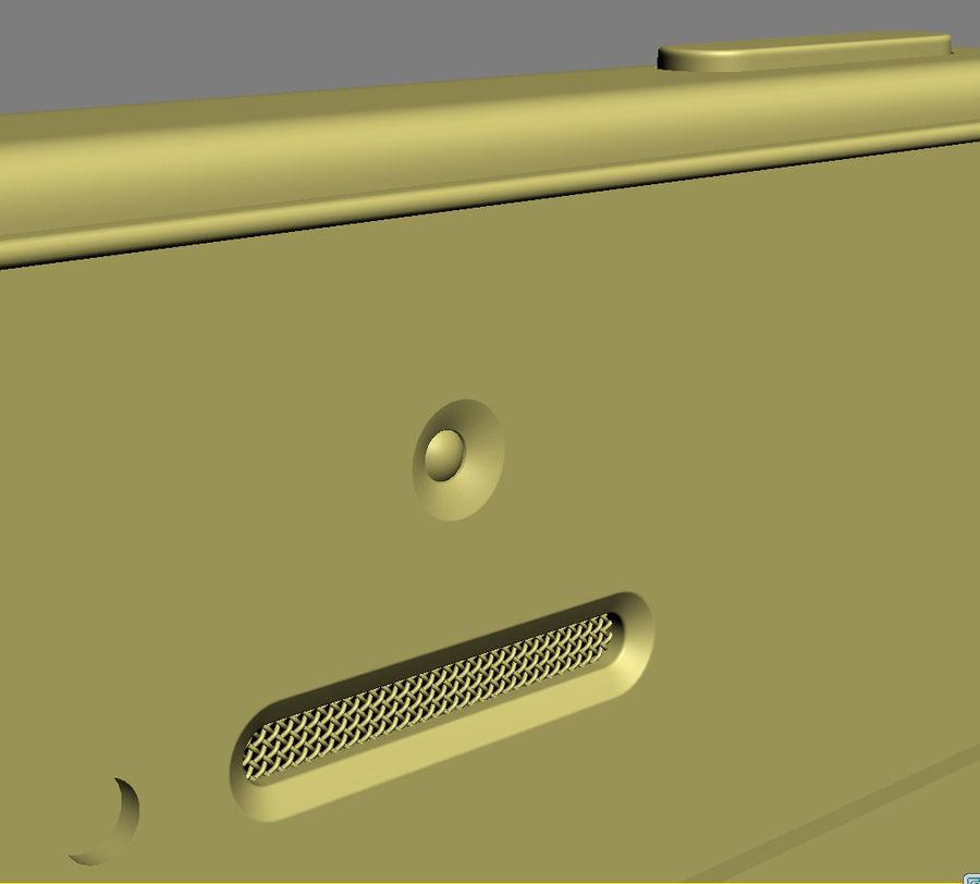 iPhone 5C cinco colores royalty-free modelo 3d - Preview no. 33