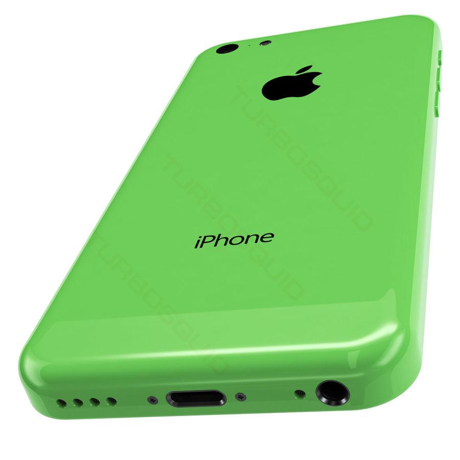 iPhone 5C cinco colores royalty-free modelo 3d - Preview no. 4