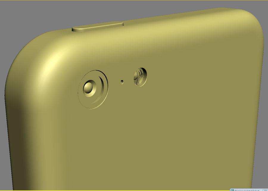 iPhone 5C cinco colores royalty-free modelo 3d - Preview no. 37