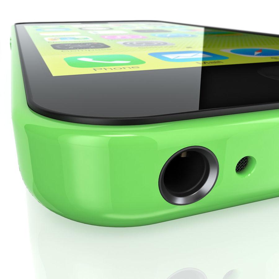 iPhone 5C cinco colores royalty-free modelo 3d - Preview no. 11