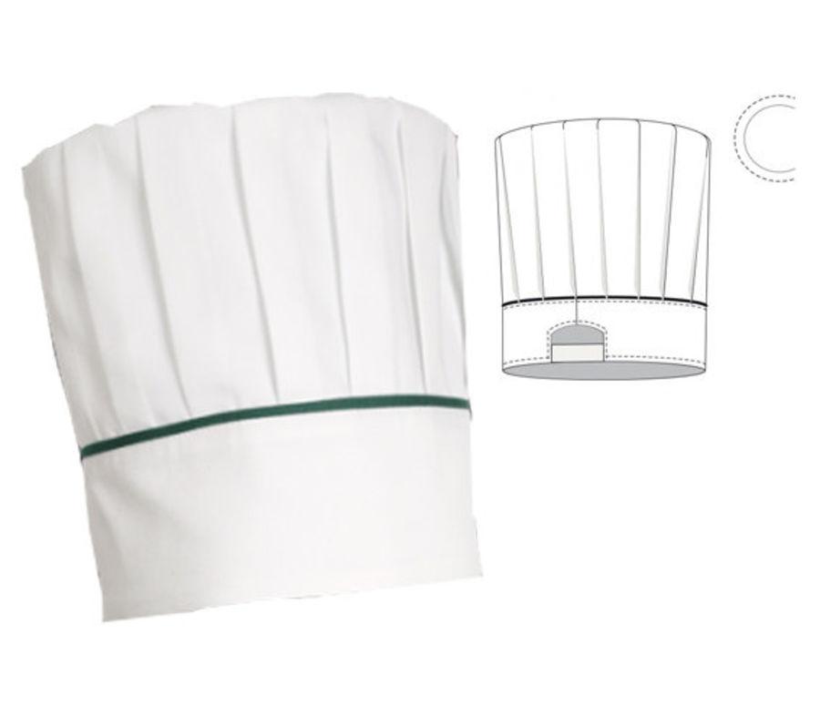 Kapelusz szefa kuchni royalty-free 3d model - Preview no. 1
