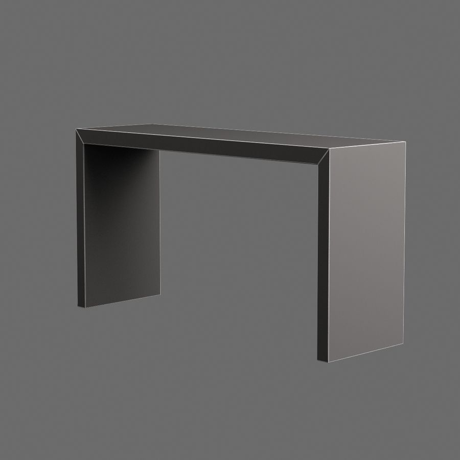 Oturma odası masa 001 royalty-free 3d model - Preview no. 7