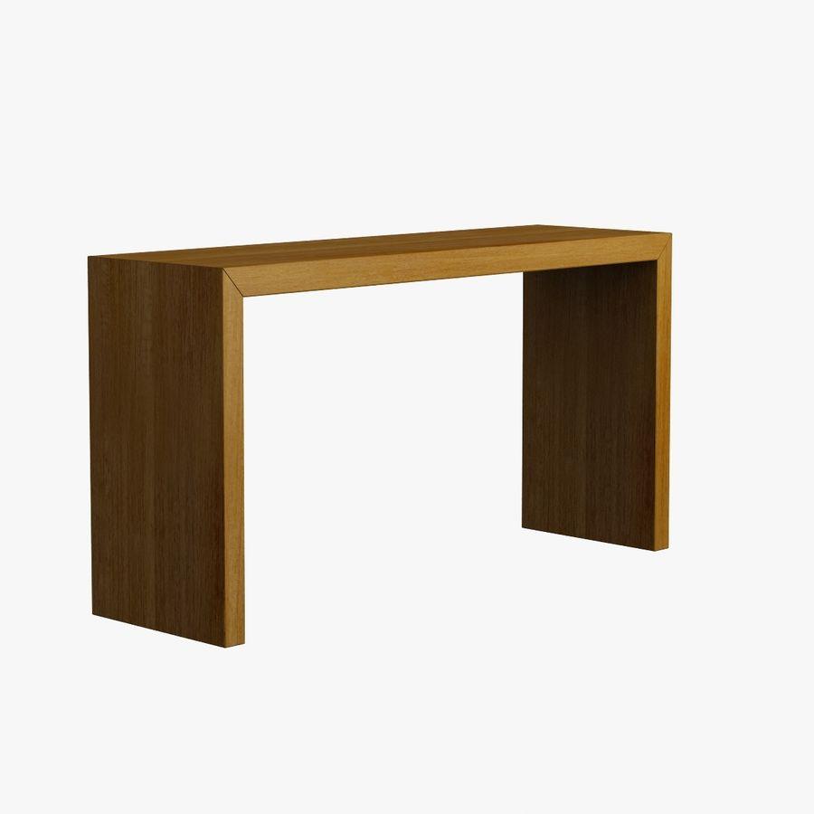 Oturma odası masa 001 royalty-free 3d model - Preview no. 4