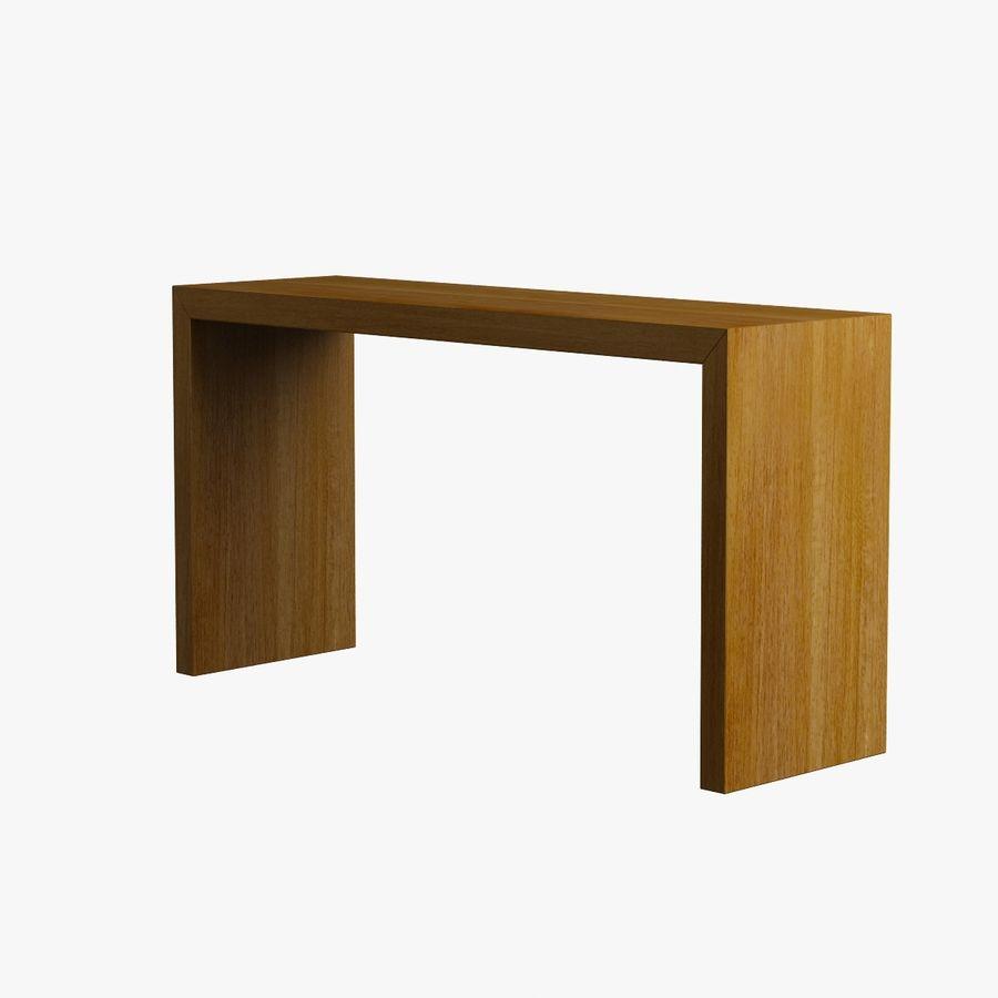 Oturma odası masa 001 royalty-free 3d model - Preview no. 3