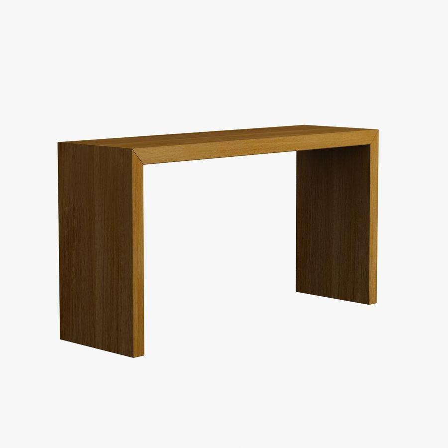 Oturma odası masa 001 royalty-free 3d model - Preview no. 6