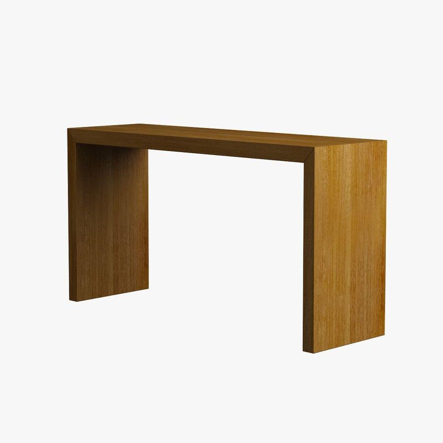 Oturma odası masa 001 royalty-free 3d model - Preview no. 5
