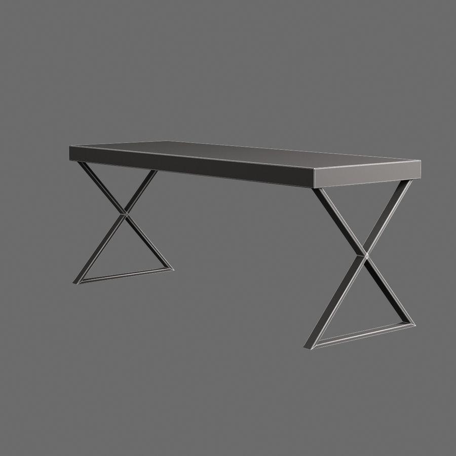 Oturma odası masa 002 royalty-free 3d model - Preview no. 8