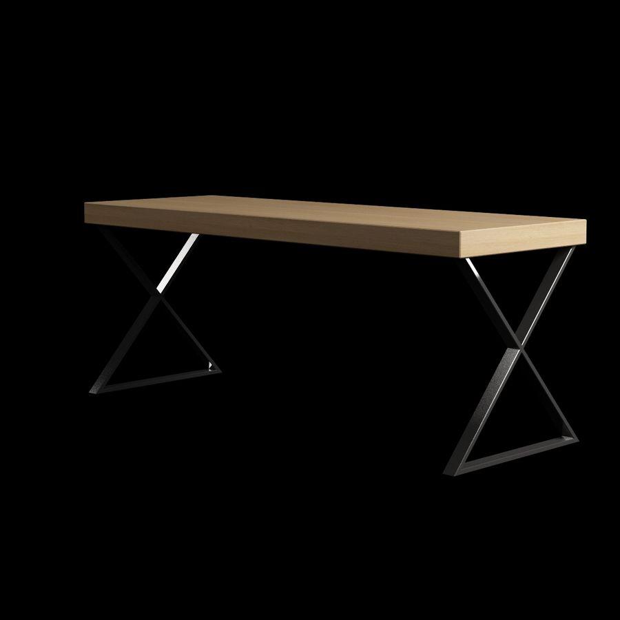 Oturma odası masa 002 royalty-free 3d model - Preview no. 2