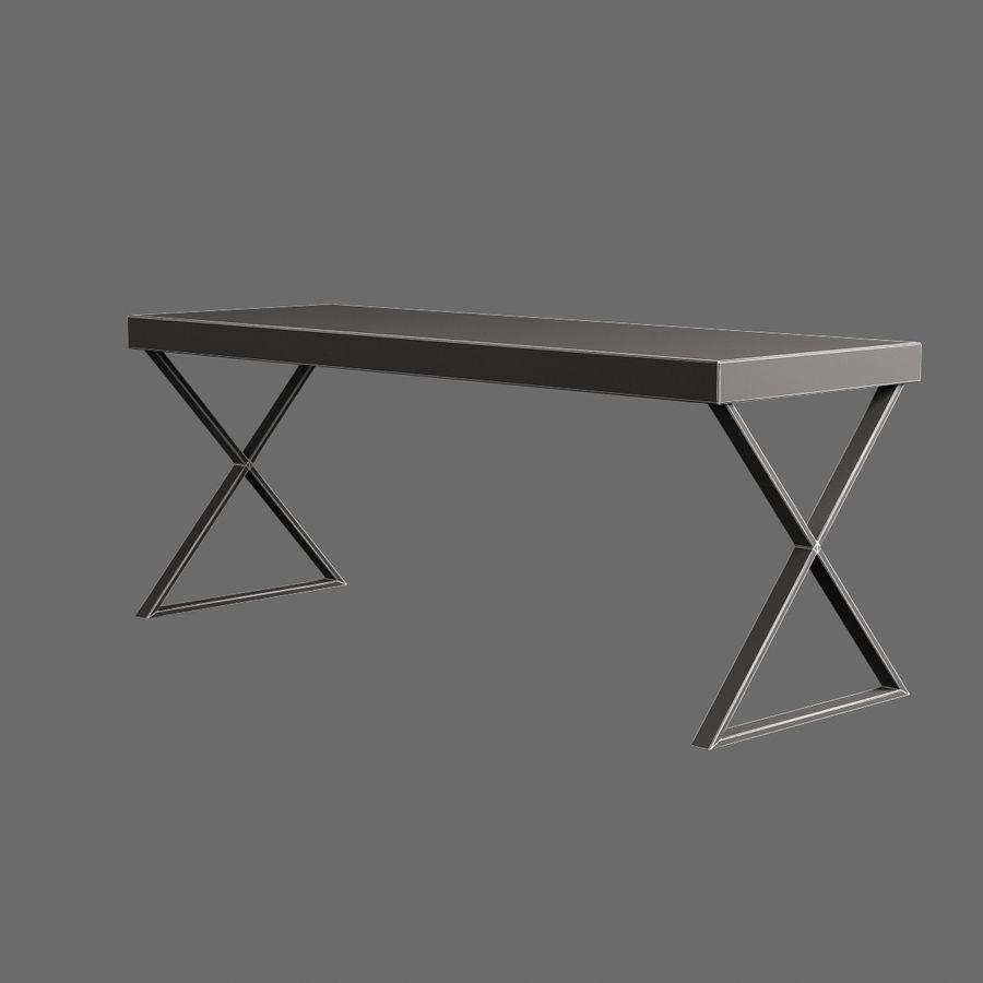 Oturma odası masa 002 royalty-free 3d model - Preview no. 7