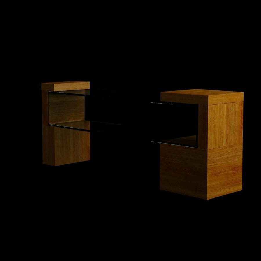 リビングルームテーブル005 royalty-free 3d model - Preview no. 2