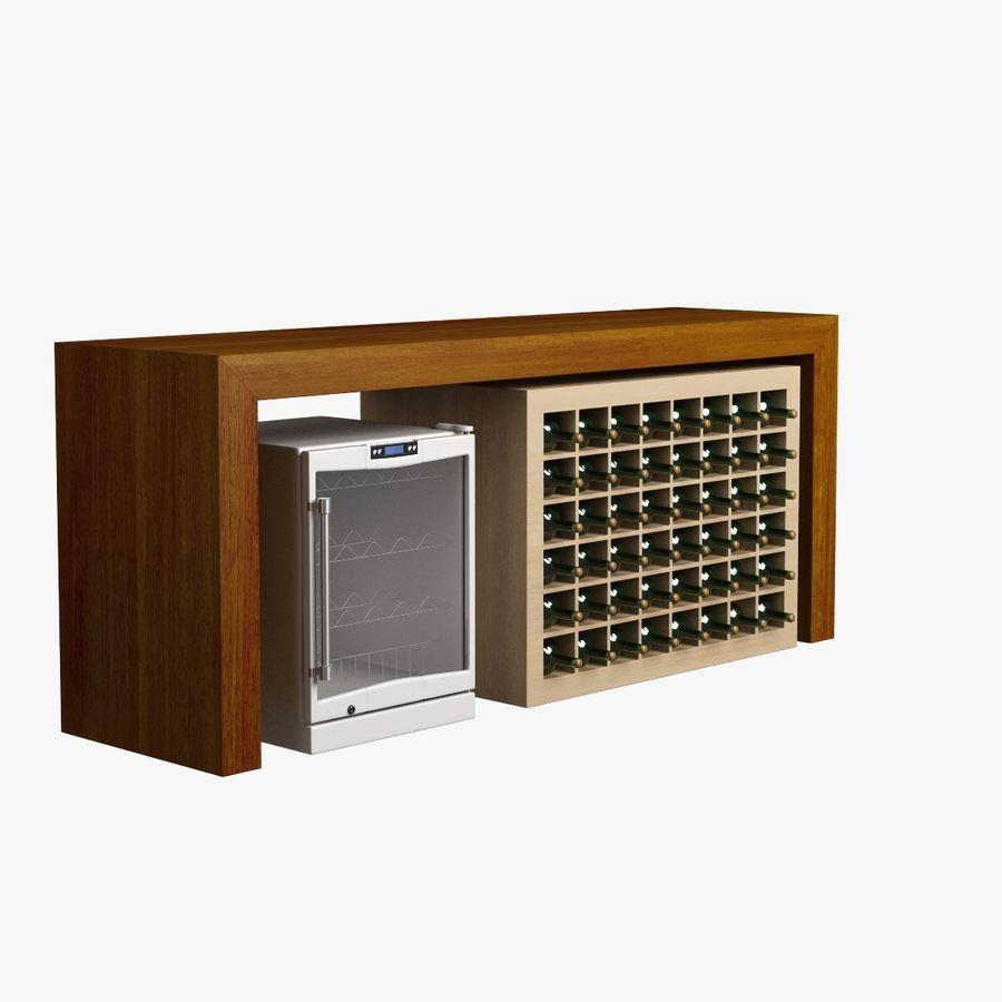 Oturma odası masa 006 royalty-free 3d model - Preview no. 4