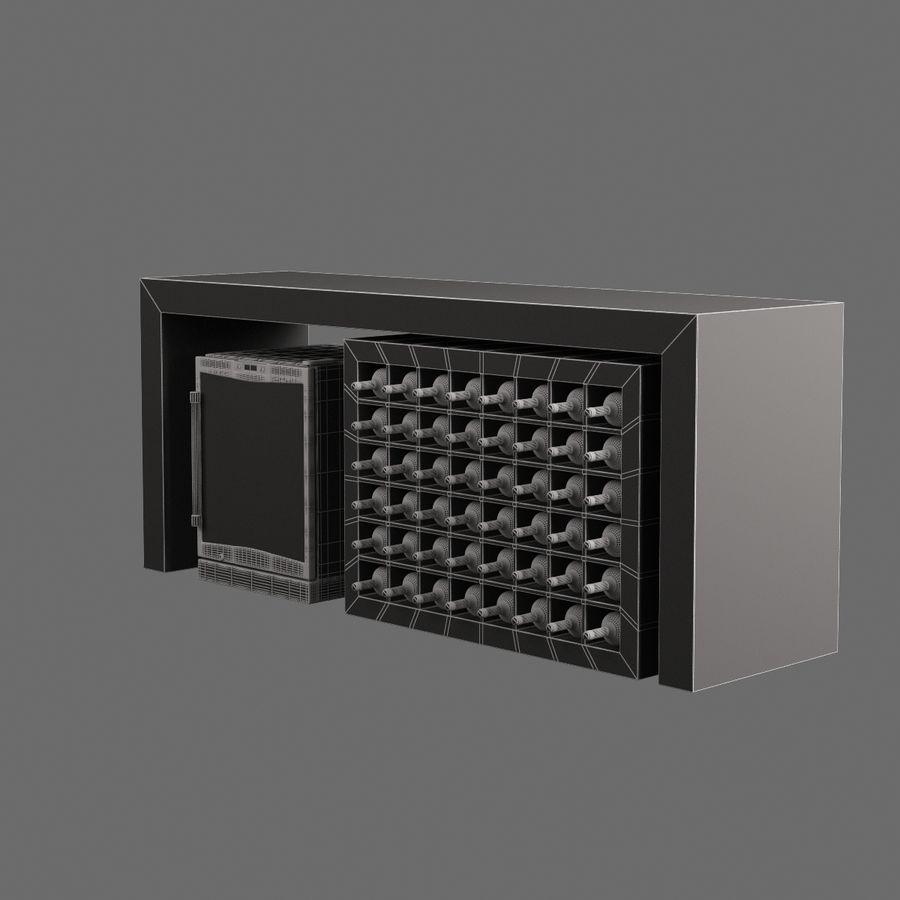 Oturma odası masa 006 royalty-free 3d model - Preview no. 7