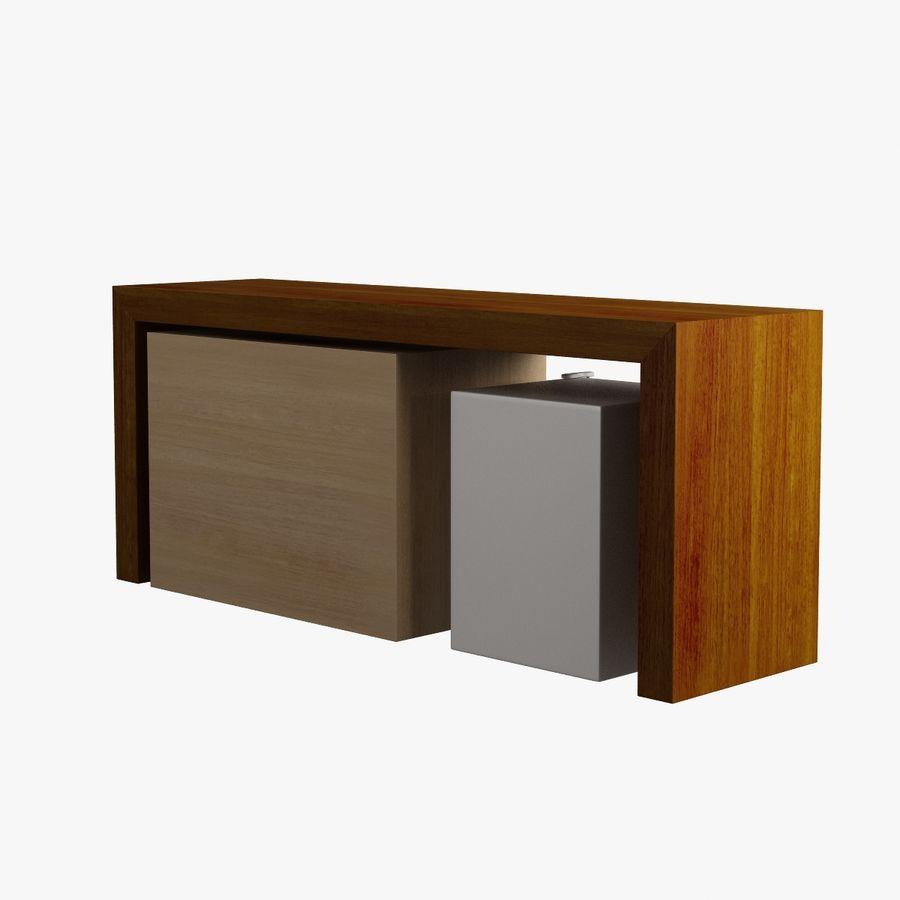 Oturma odası masa 006 royalty-free 3d model - Preview no. 5