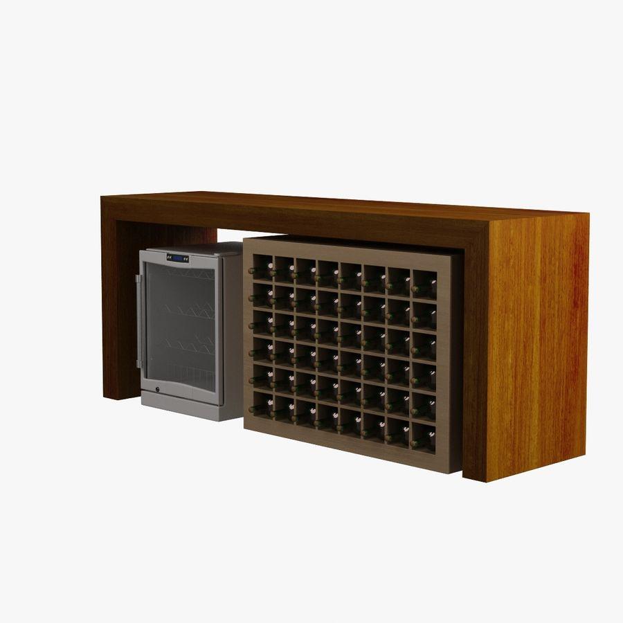 Oturma odası masa 006 royalty-free 3d model - Preview no. 3