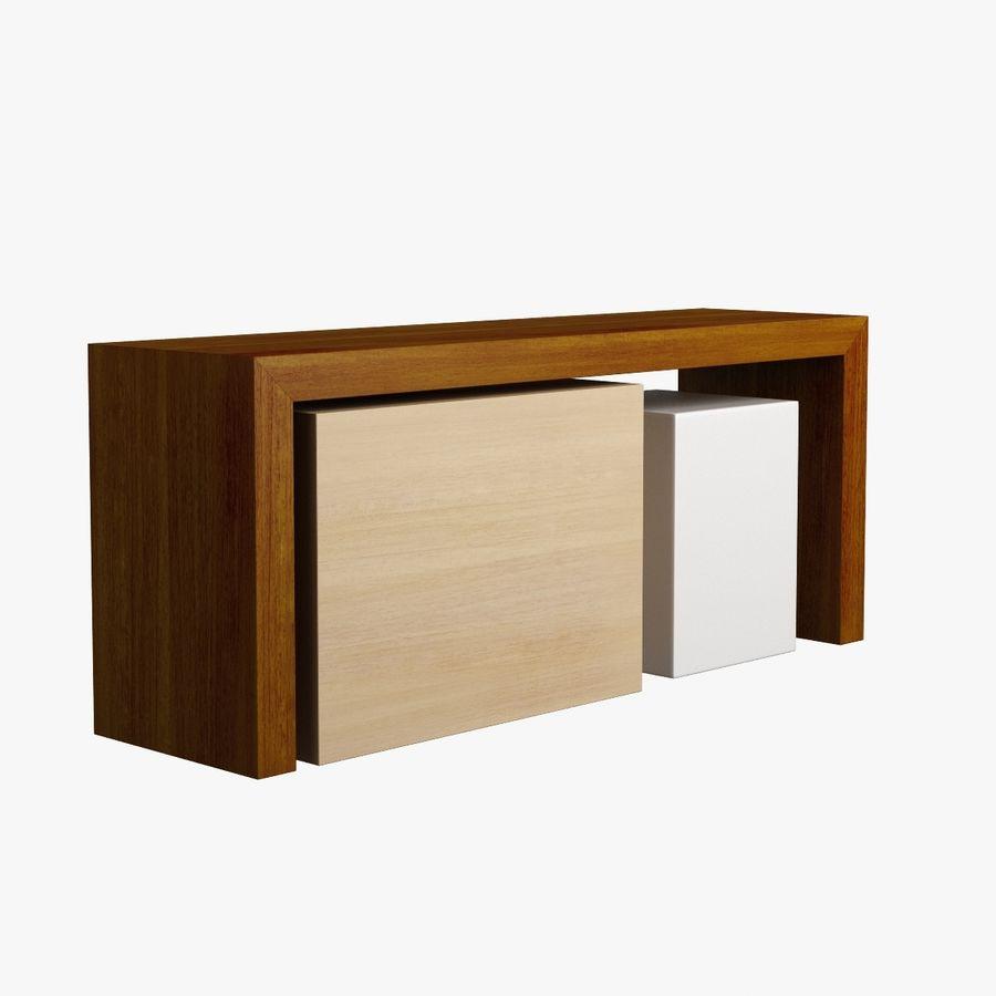 Oturma odası masa 006 royalty-free 3d model - Preview no. 6