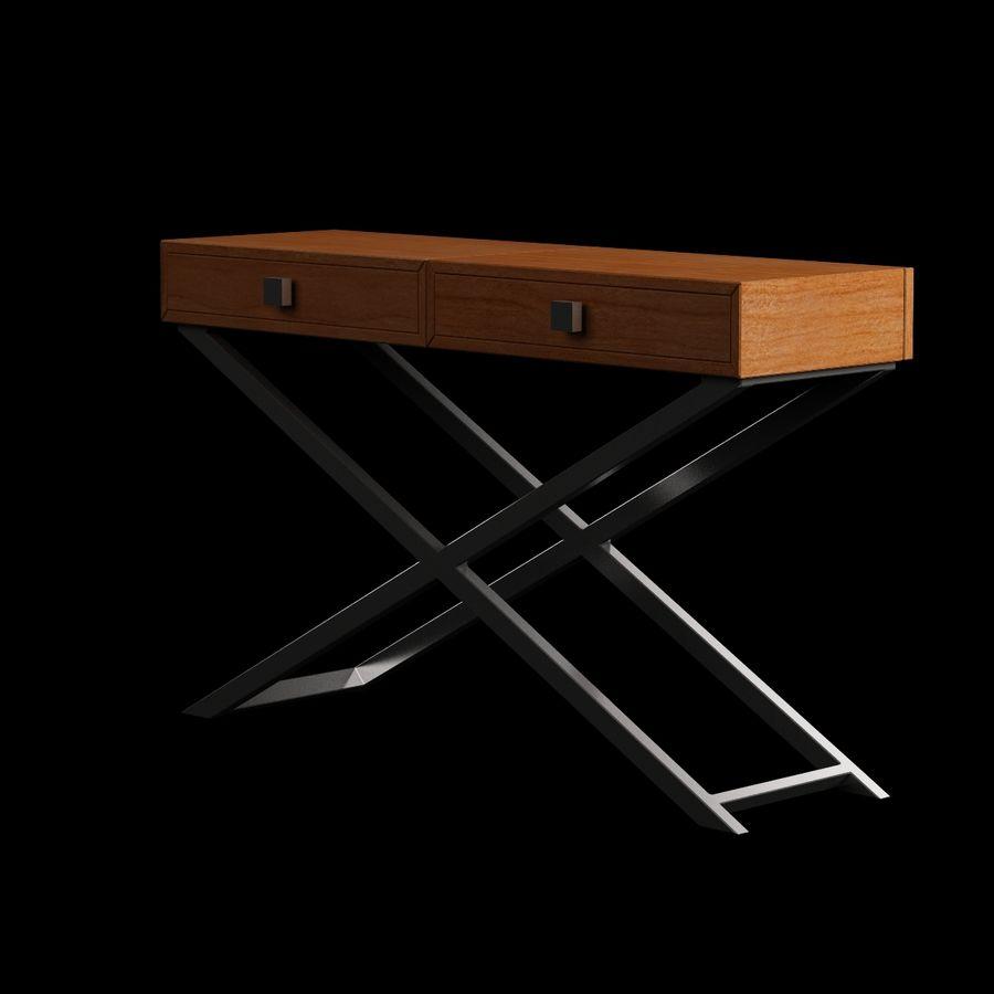 Stół do salonu 010 royalty-free 3d model - Preview no. 2