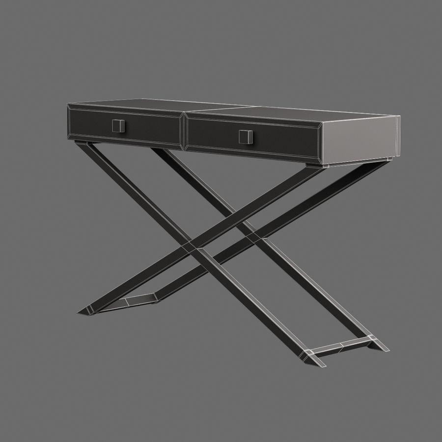 Stół do salonu 010 royalty-free 3d model - Preview no. 7