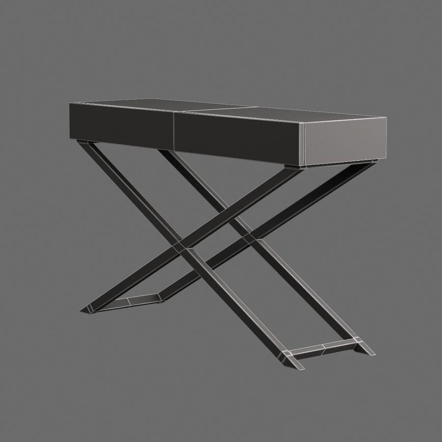 Stół do salonu 010 royalty-free 3d model - Preview no. 8