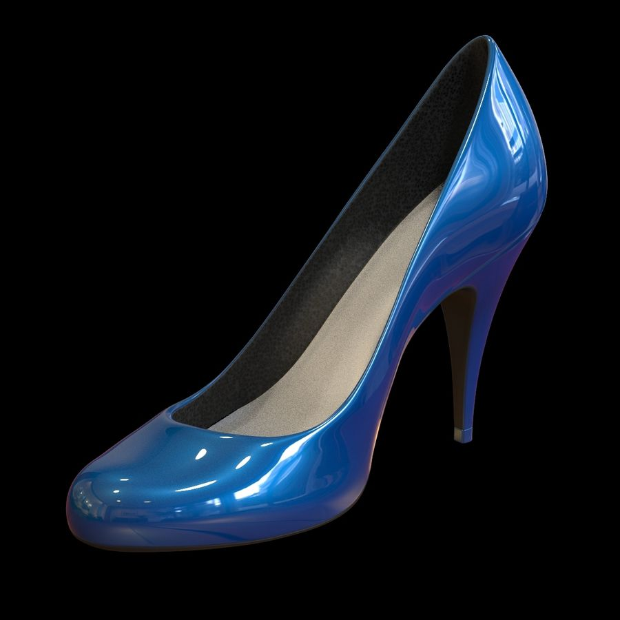 Tacones altos royalty-free modelo 3d - Preview no. 2