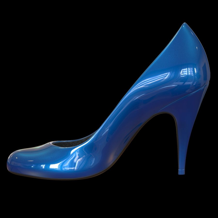 Tacones altos royalty-free modelo 3d - Preview no. 3