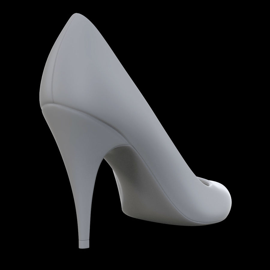 Tacones altos royalty-free modelo 3d - Preview no. 9