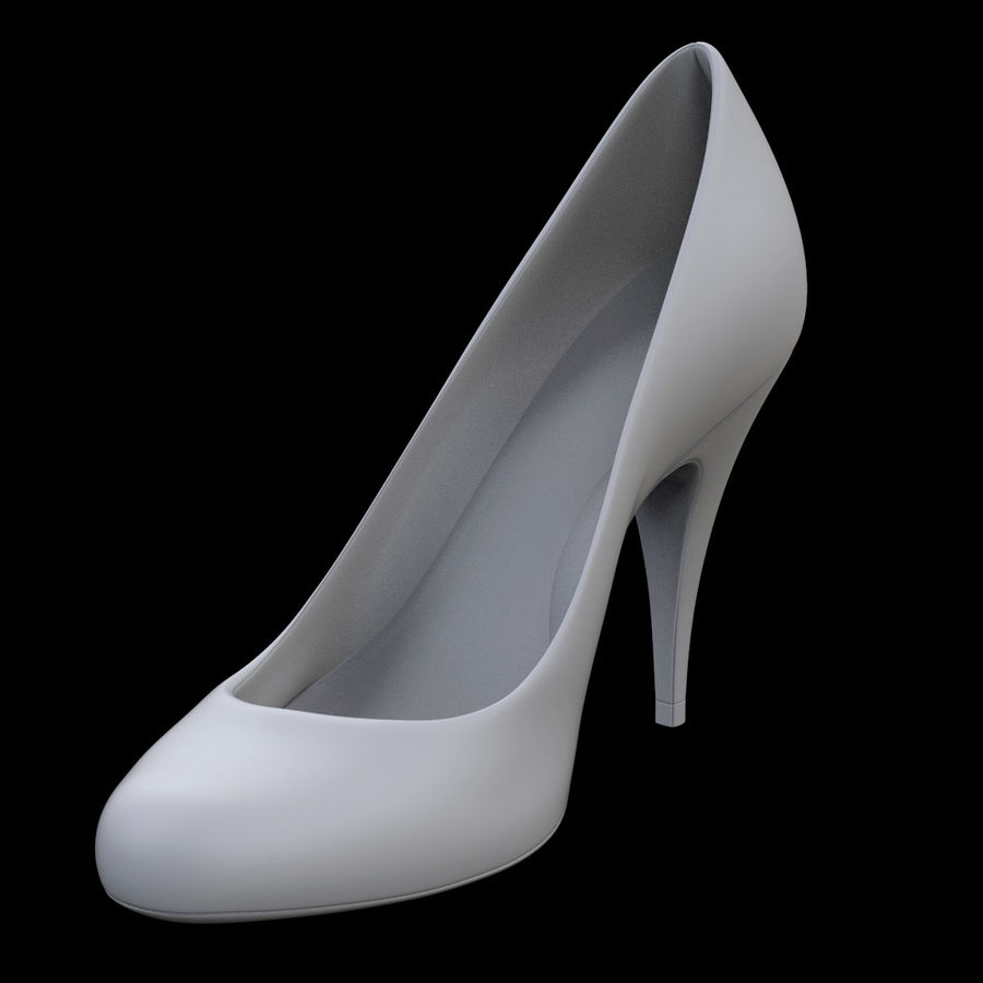 Tacones altos royalty-free modelo 3d - Preview no. 8