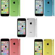 苹果iPhone 5c系列 3d model