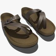 Teva Naot Sandal Leather 3d model