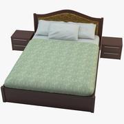 Säng 3d model