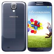 Samsung I9506 Galaxy S4 Zwart 3d model