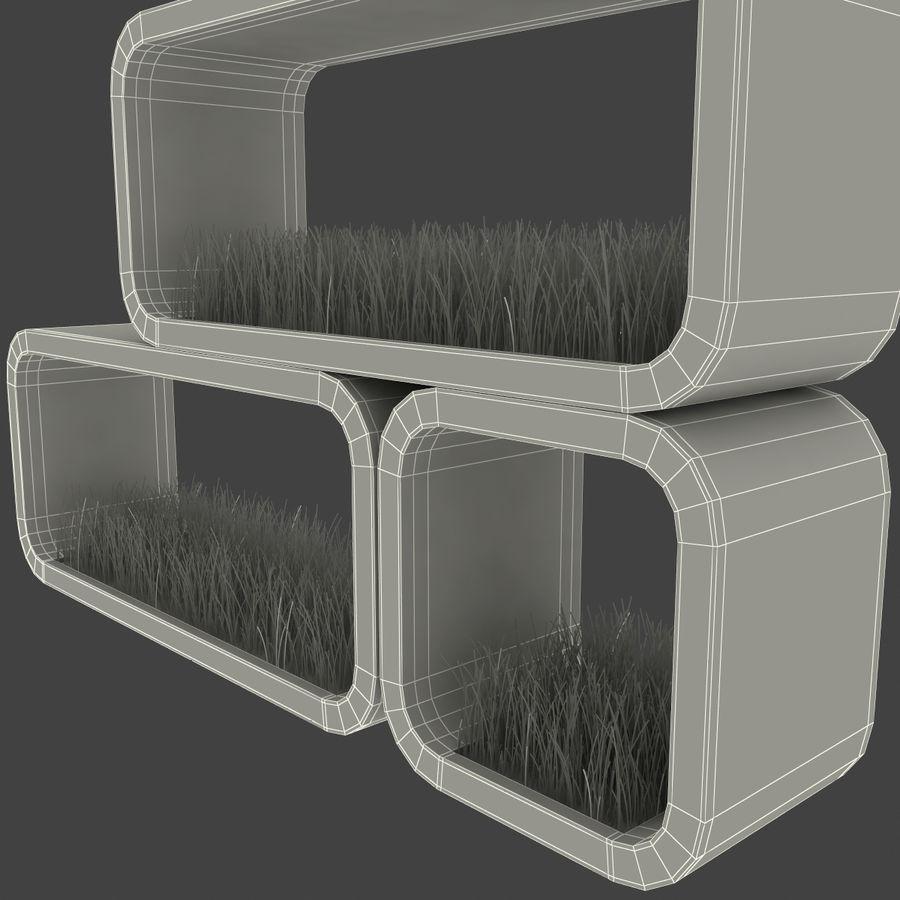 현대 화분 2 royalty-free 3d model - Preview no. 17