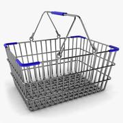 Alışveriş sepeti 3d model