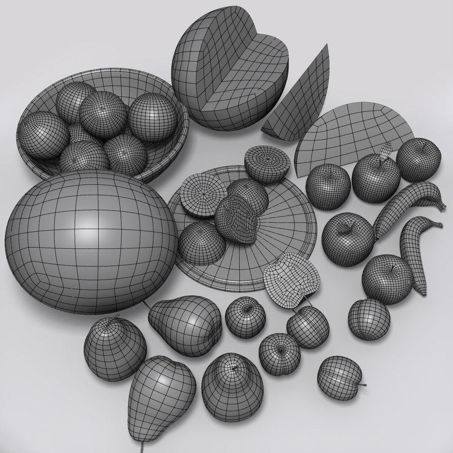Обычные фрукты royalty-free 3d model - Preview no. 9