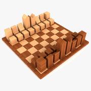 Chess Set Lanier Graham 3d model