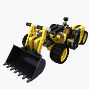 Lego Technic TeleHandler 3d model