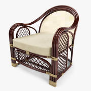 Rattan Garden Furniture 3d model