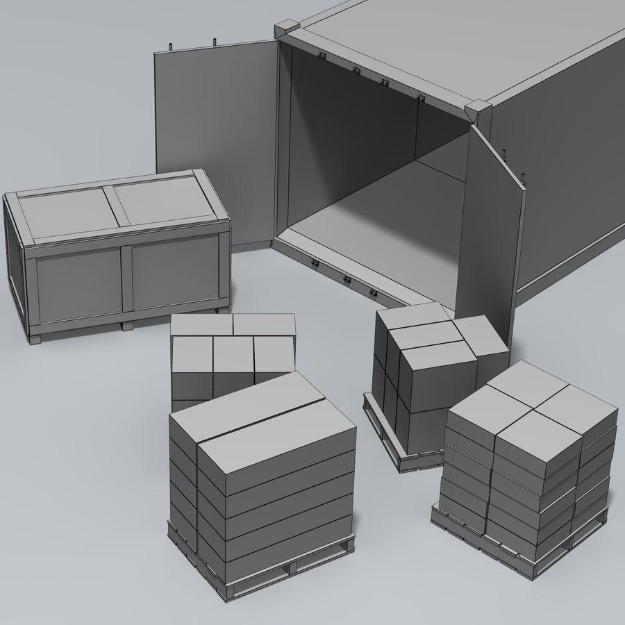 화물 royalty-free 3d model - Preview no. 10