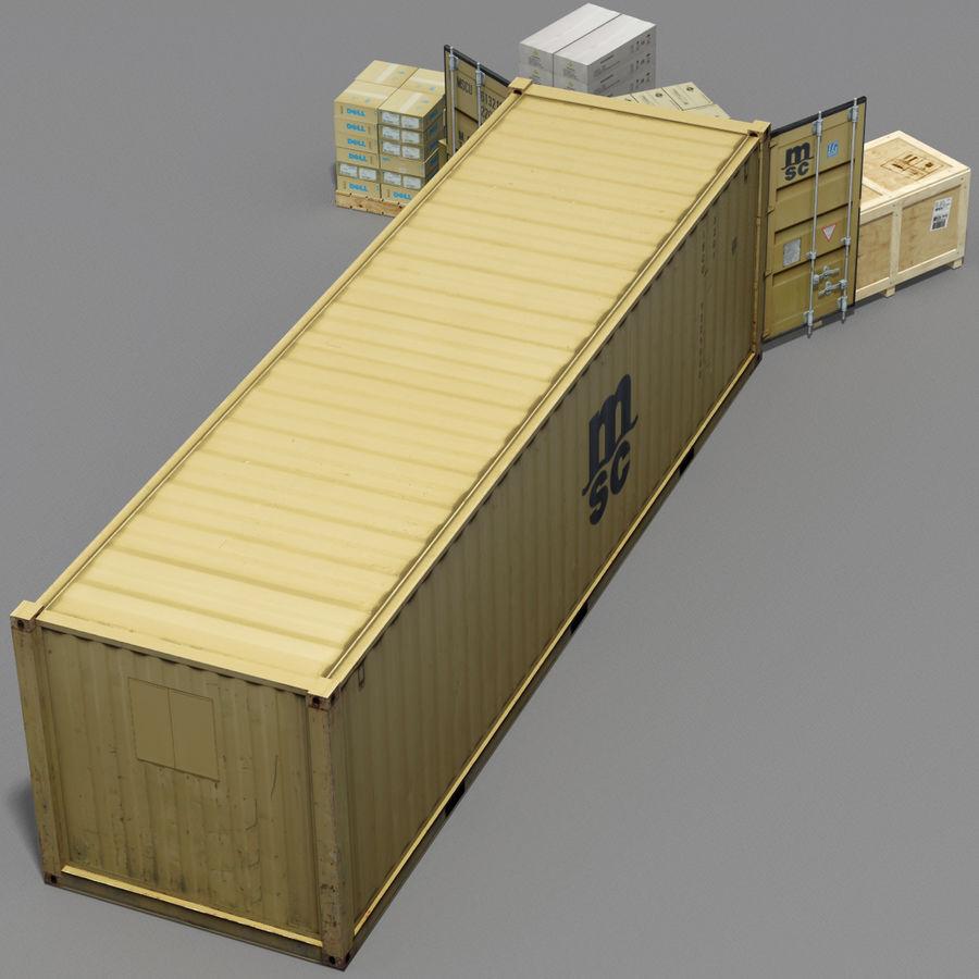 화물 royalty-free 3d model - Preview no. 4
