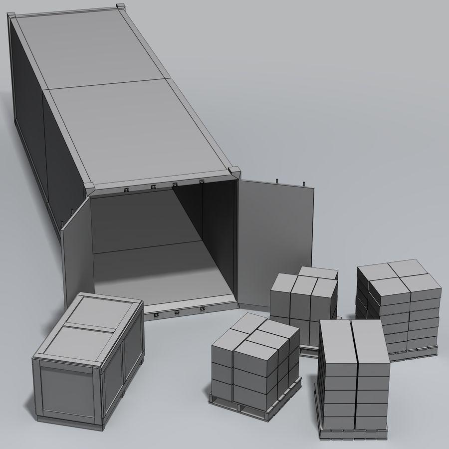 화물 royalty-free 3d model - Preview no. 9