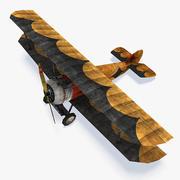 ソッピースキャメルWWI低ポリ航空機 3d model