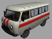 Uaz_2206 3d model