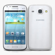 Samsung Galaxy Core Chic Branco 3d model